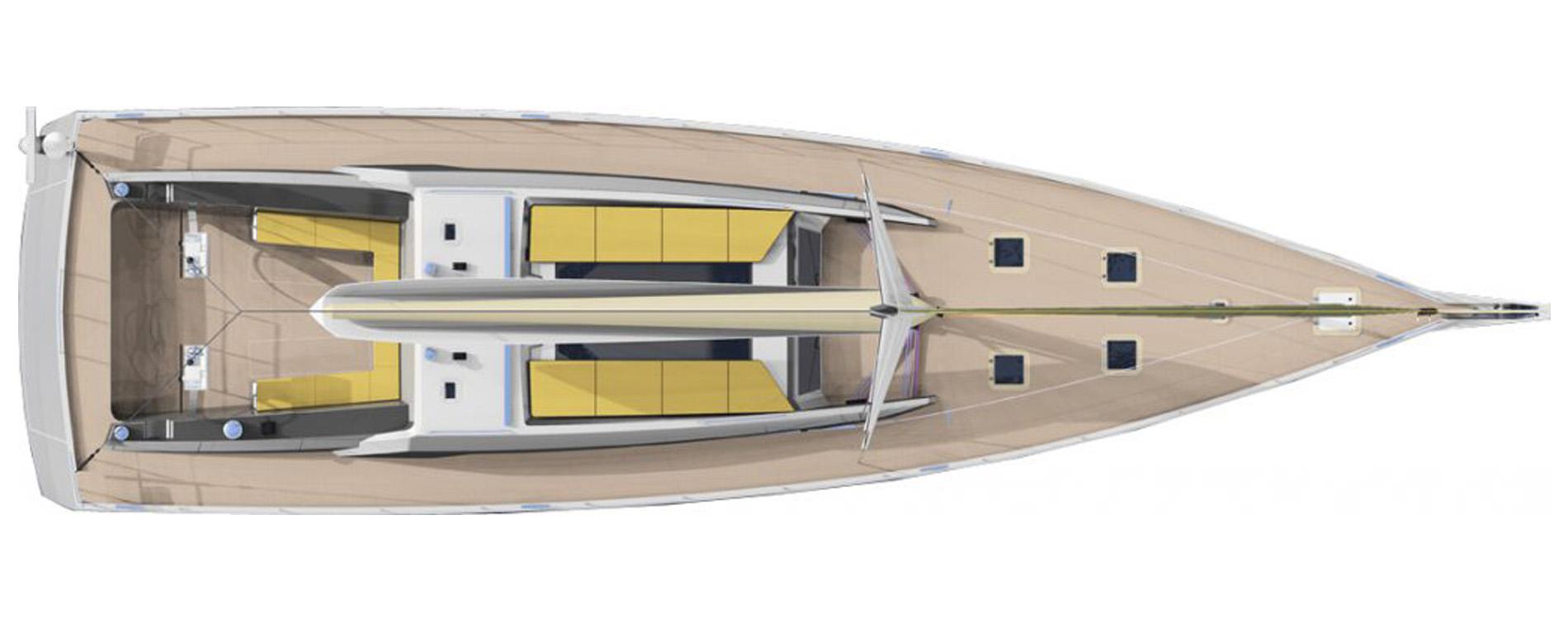Black-Diamond72-Voilier-sur-mesure-Architecte-naval-Vincent-Lebailly-Plan-du-pont