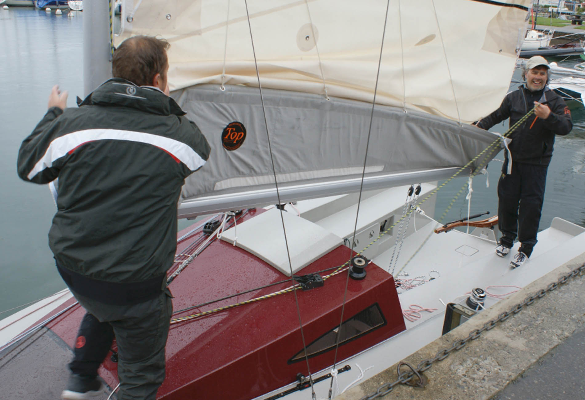 CartOOn700-voilier construction amateur-contre plaqué epoxy-architecte naval Vincent Lebailly