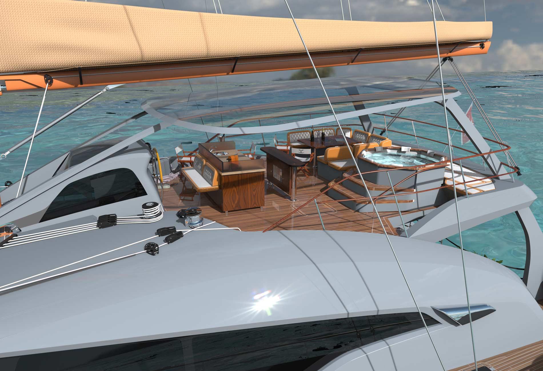 DolceCata80-catamaran-aluminium-sur-mesure-Architecture-navale-Lebailly