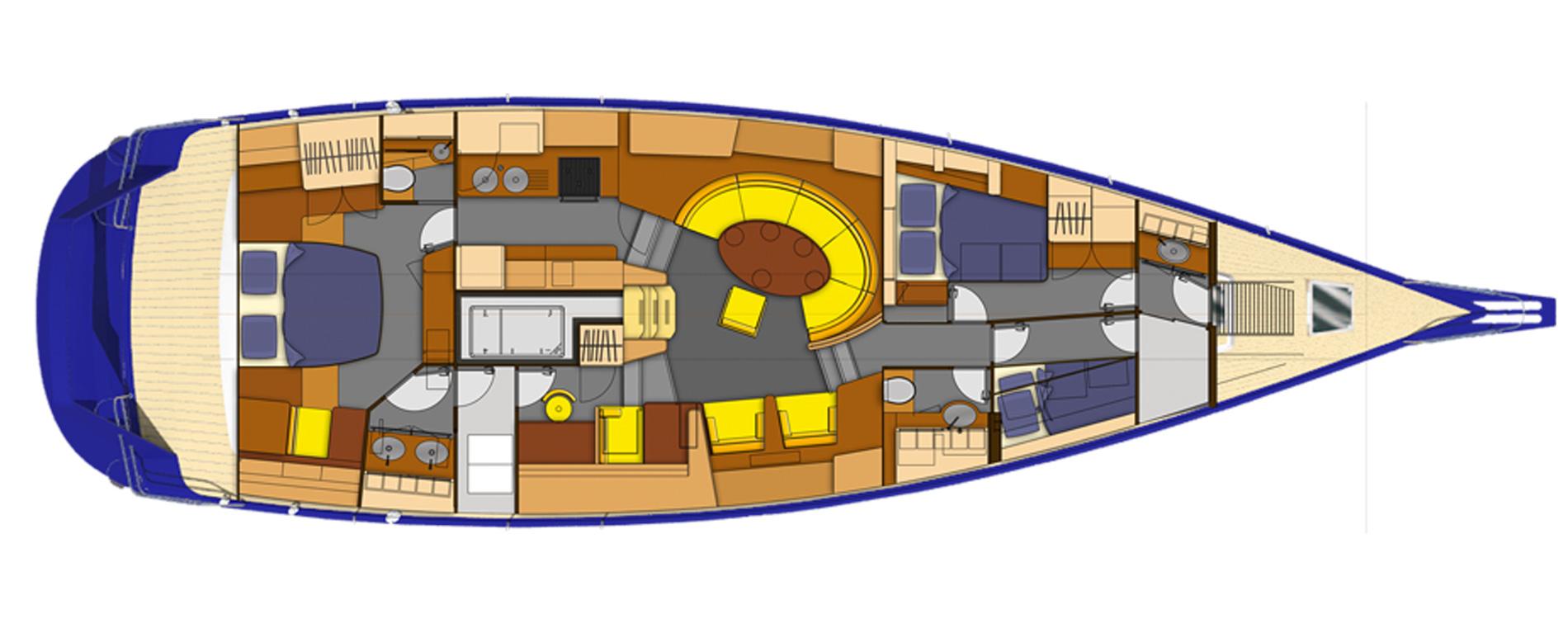Garcia64cc-Vincent Lebailly-Agencement intérieur-voilier aluminium sur mes