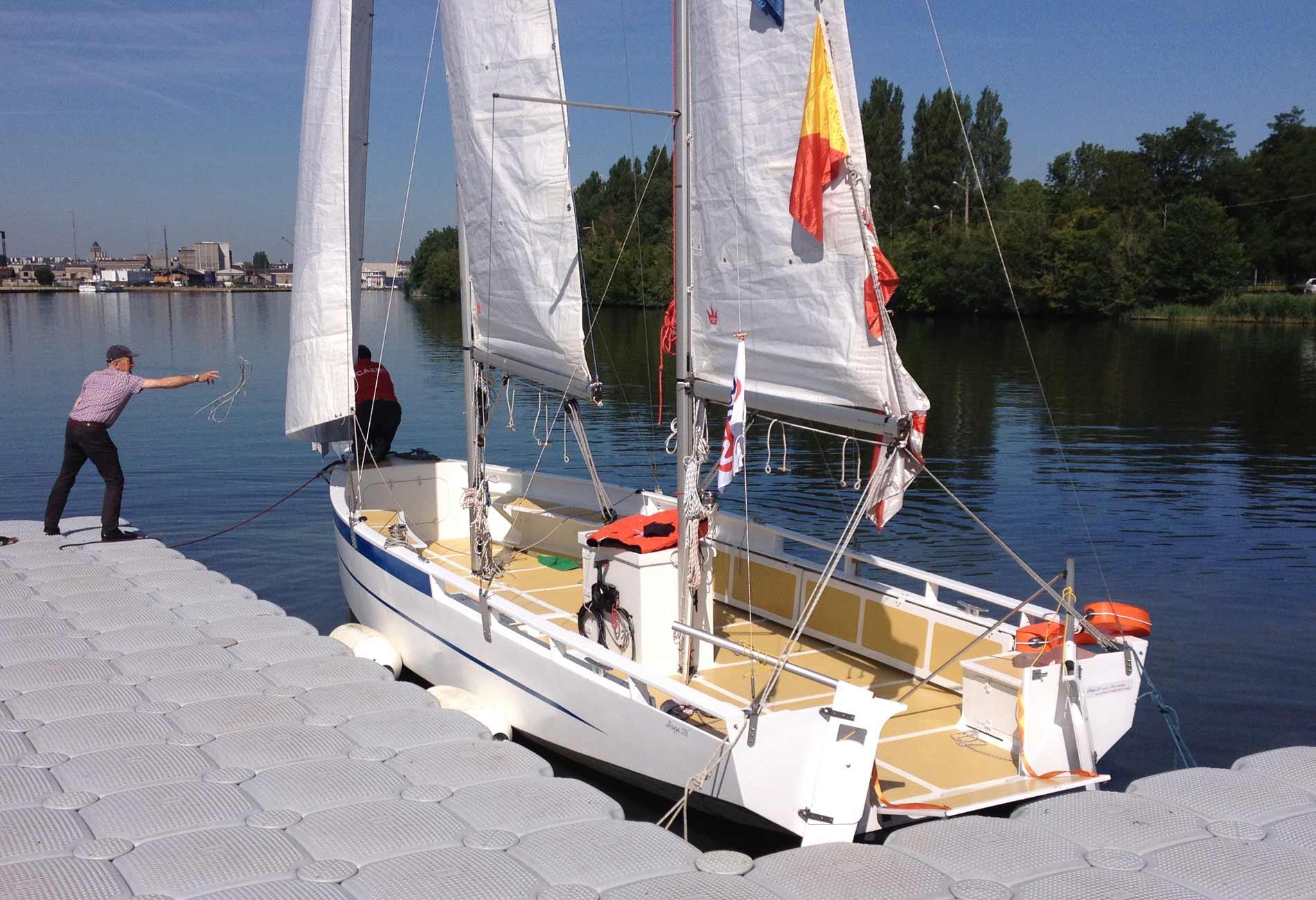 Hope28-Voilier-personnes à mobilité réduite-Architecture-navale