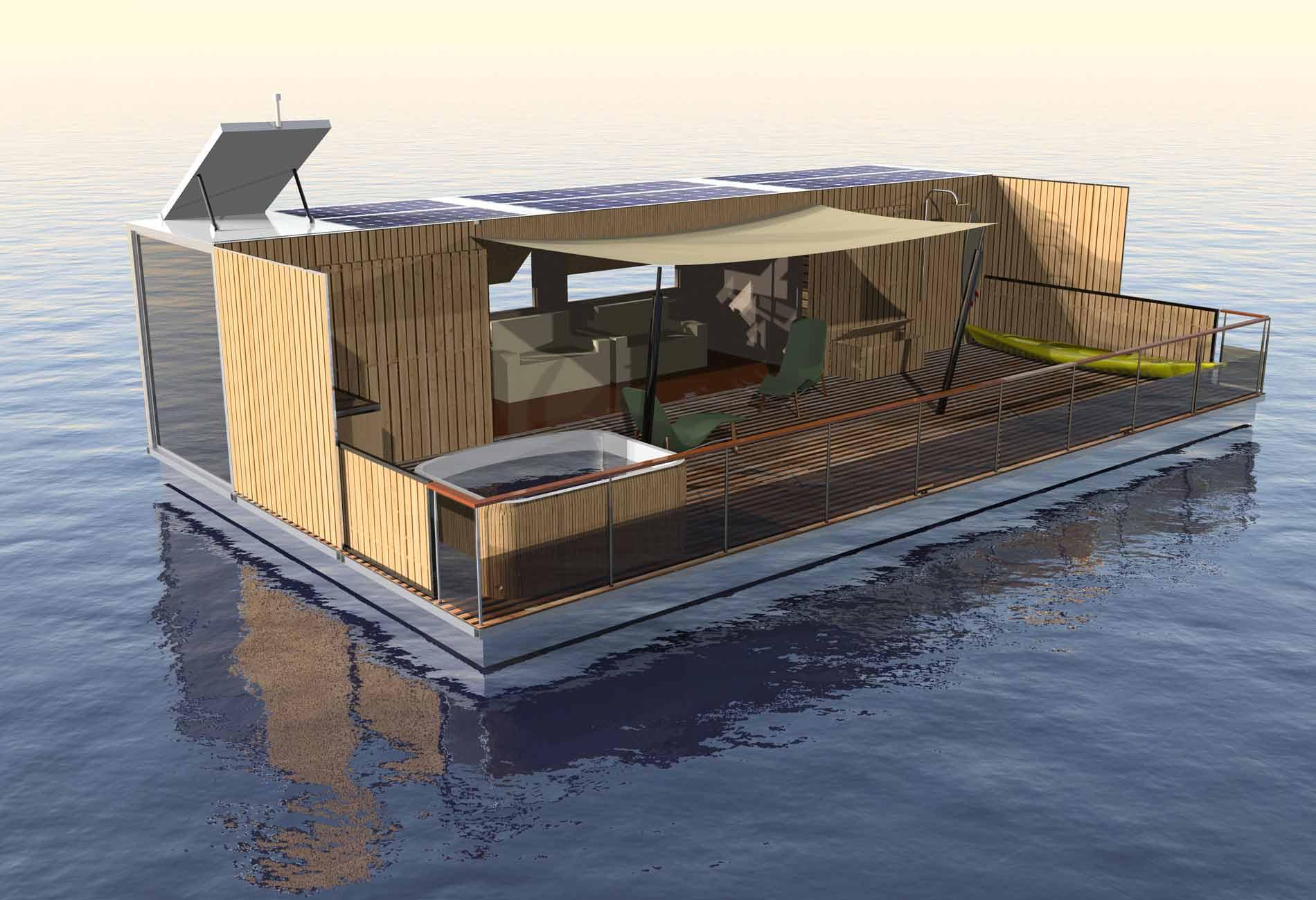 HouseBoat-Architecte-Vincent-Lebailly-Format-container-maison-flottante-Innovation