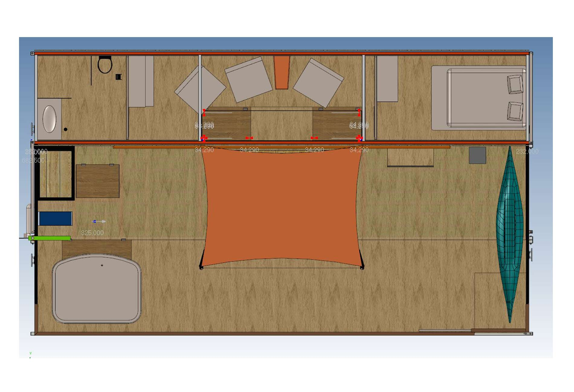 HouseBoat-Architect-Vincent-Lebailly-Format-container-floating house-Innovation