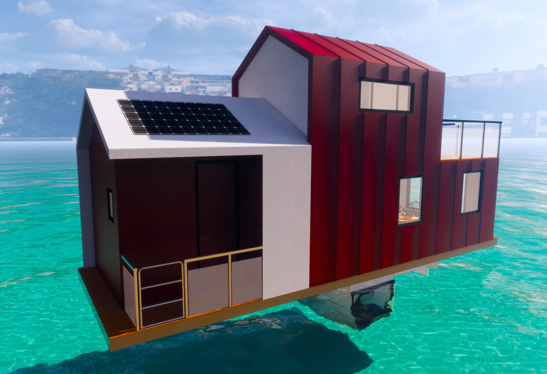 Junhome-Floating House-Naval Architecture-Vincent-Lebailly-Boat-design-5