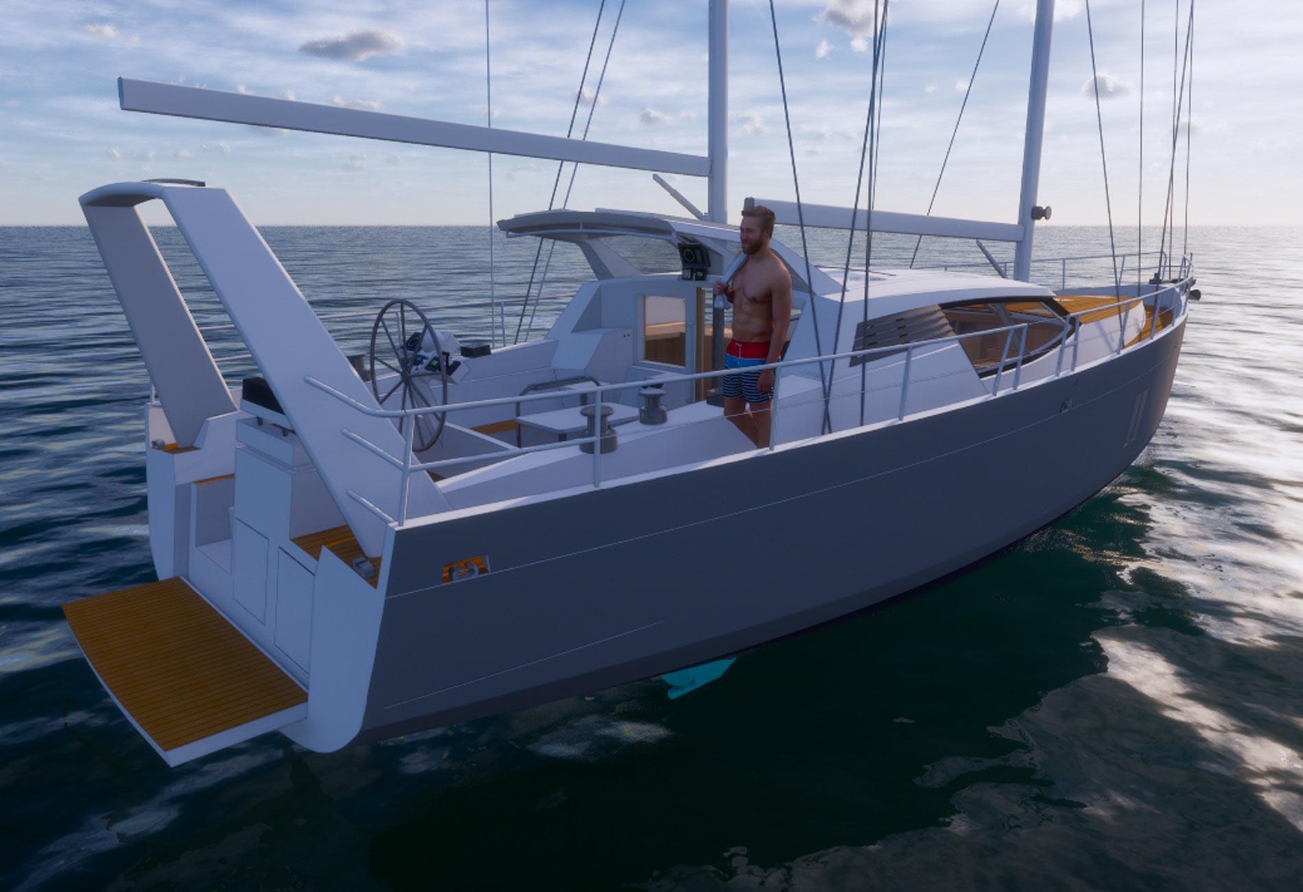 Madiba56-Architecture-navale-Vincent-Lebailly-voilier aluminium sur-mesure