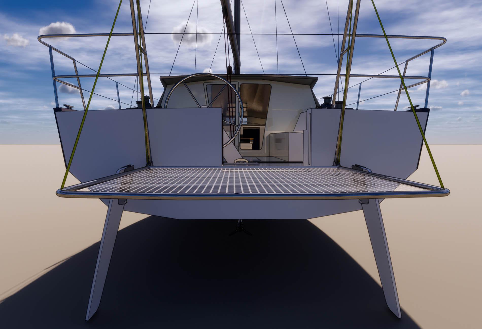 Rasta40-Yacht design-custom sailing yacht-naval architecture-Vincent Lebailly