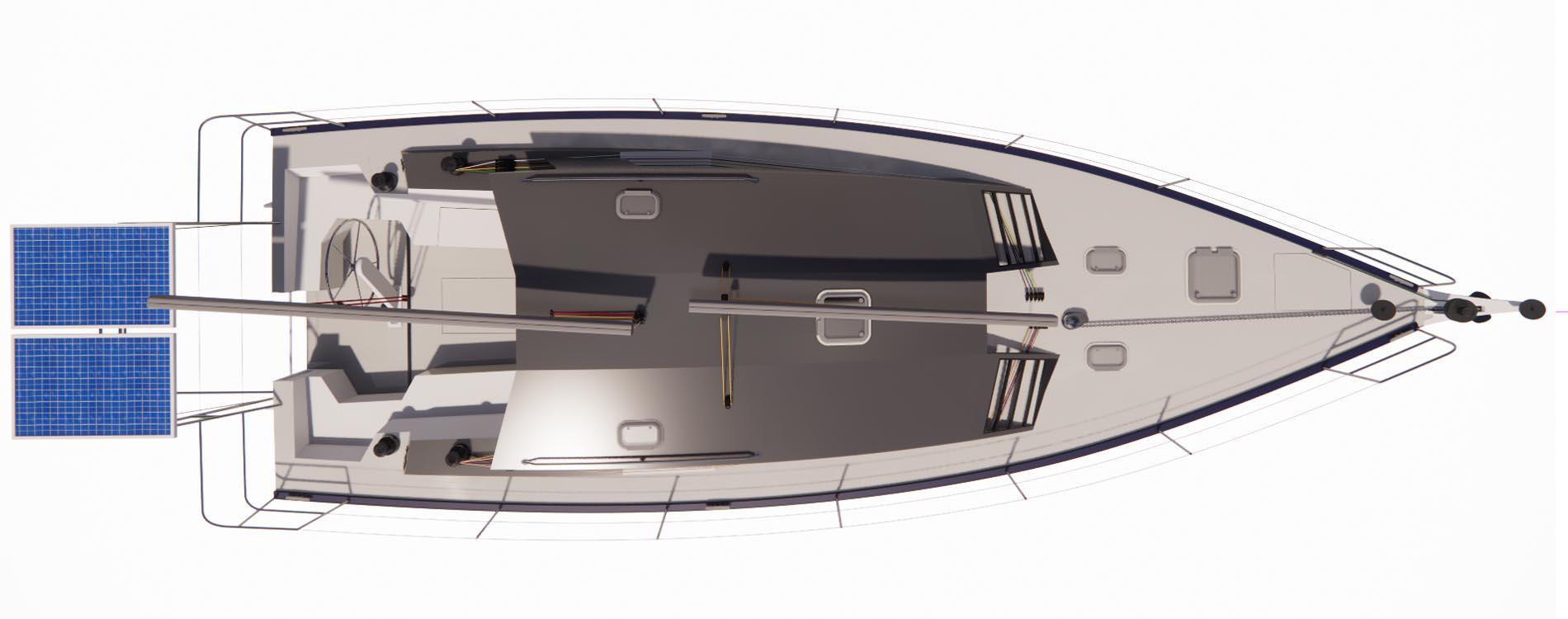 Rasta40-voilier sur-mesure-architecture navale-Vincent Lebailly-Pont
