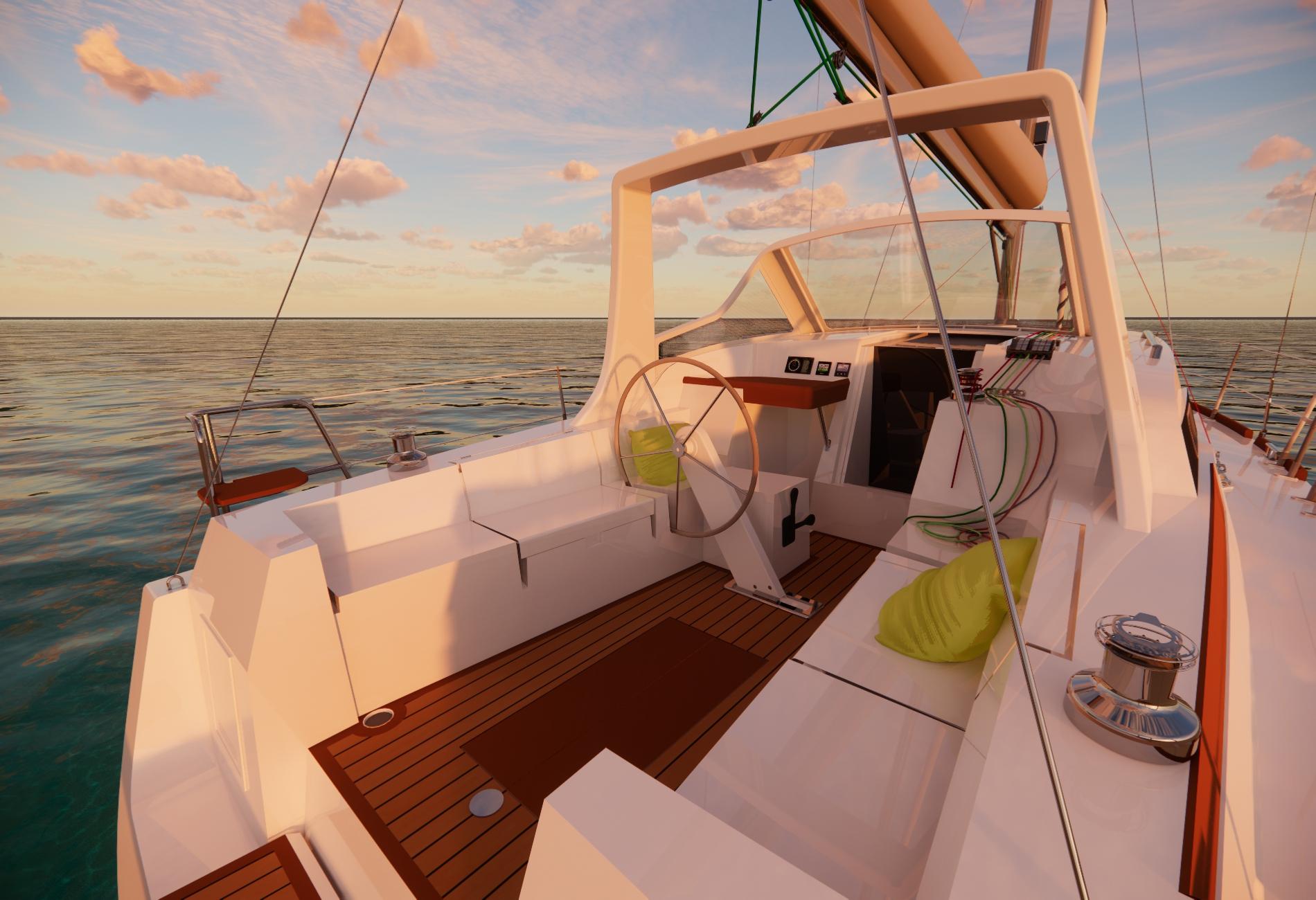 Wrighton36-Voilier de série-Vincent Lebailly-Architecture navale-Biquille-